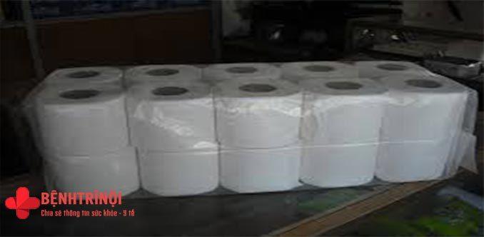 Giấy vệ sinh dởm gây bệnh phụ khoa