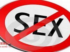 Không quan hệ tình dục khi bị sùi mào gà