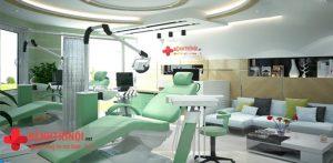 Cơ sở vật chất phòng khám đa khoa Thái Hà